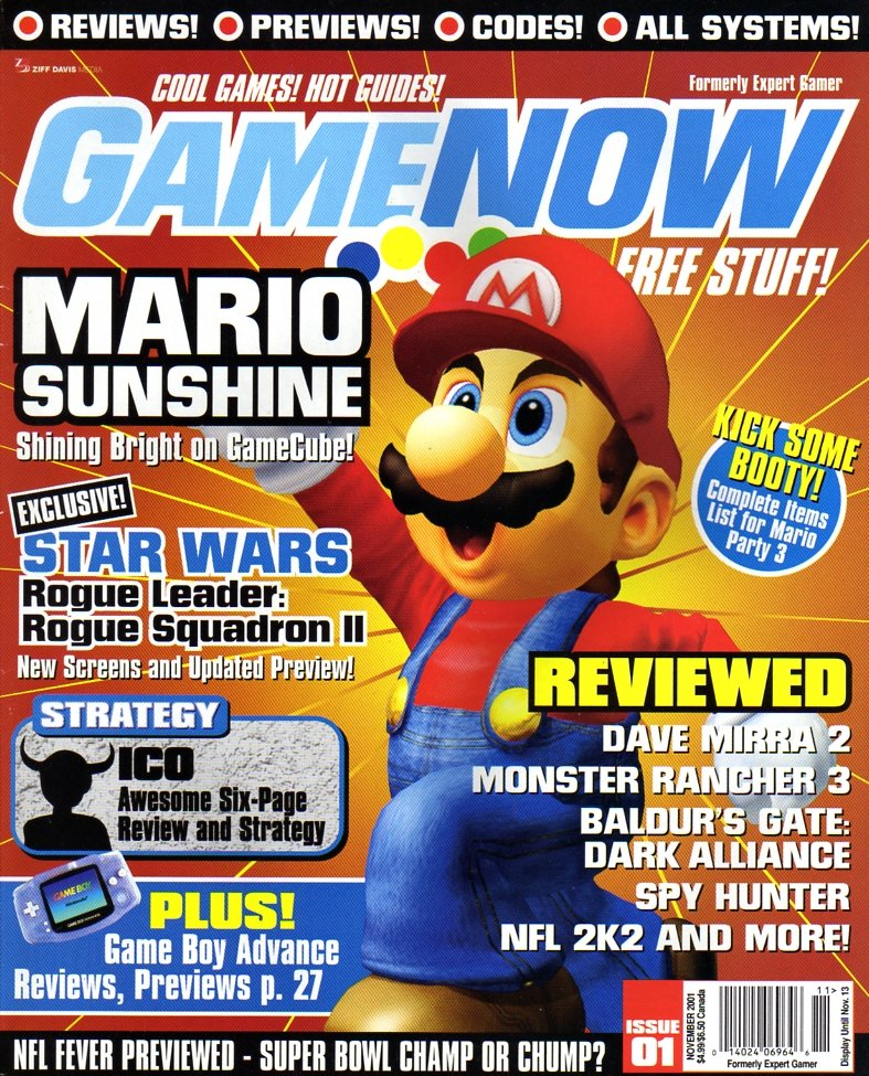 GameNow Issue 001 November 2001