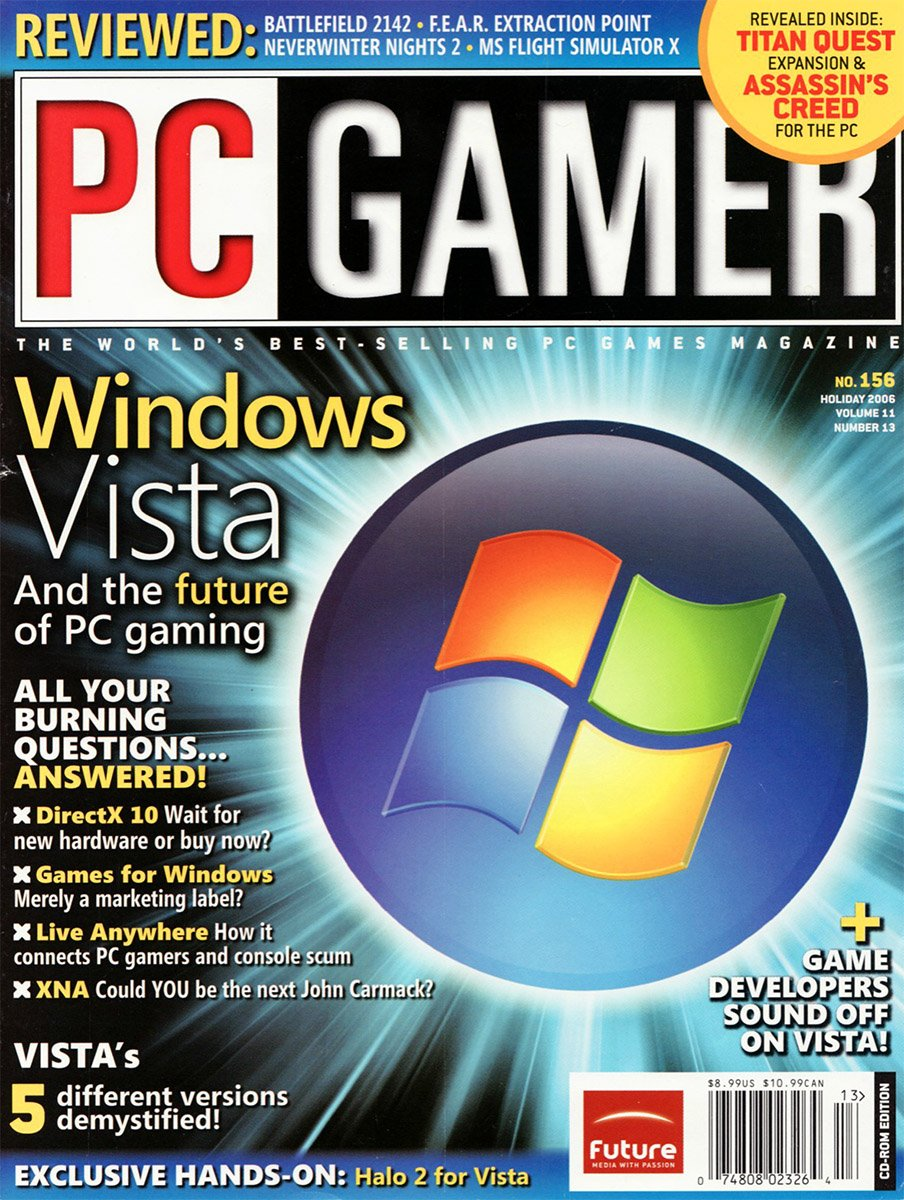 PC Gamer Issue 156 Holiday 2006