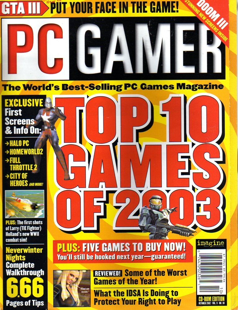 PC Gamer Issue 102 Octobember 2002