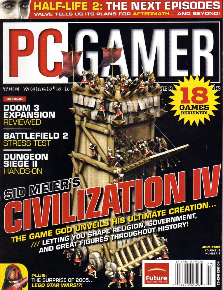 PC Gamer Issue 138 July 2005