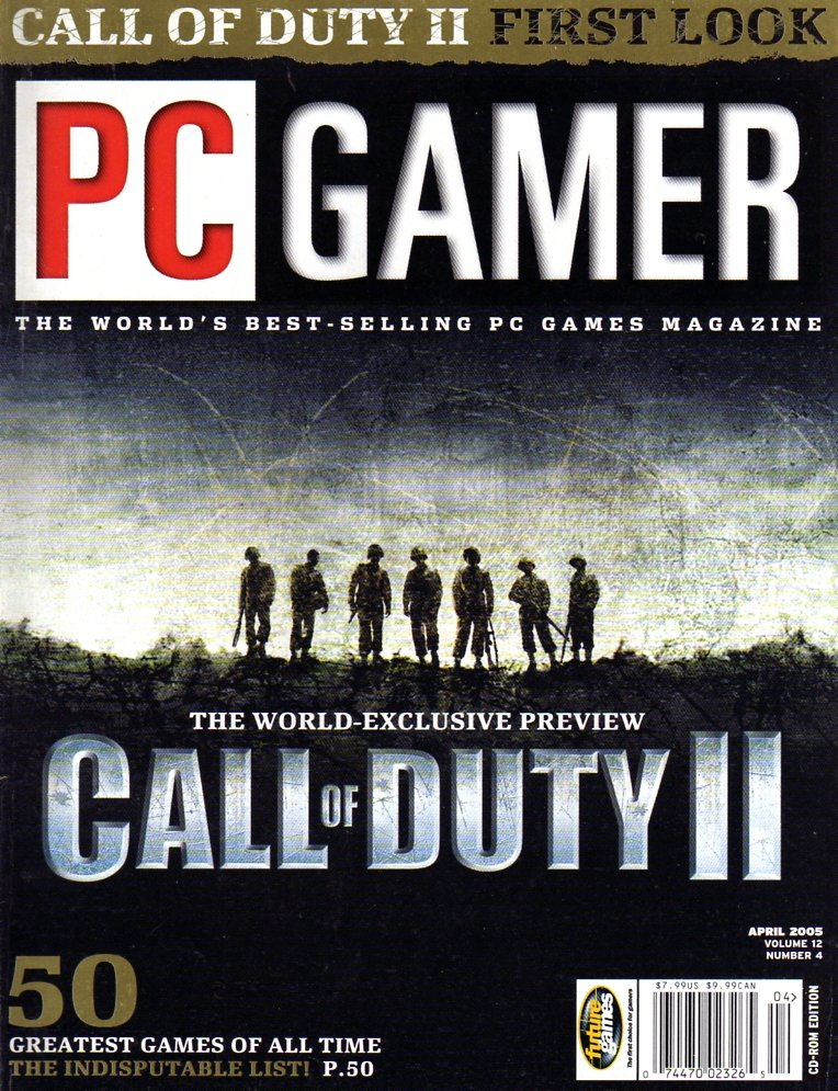 PC Gamer Issue 135 April 2005