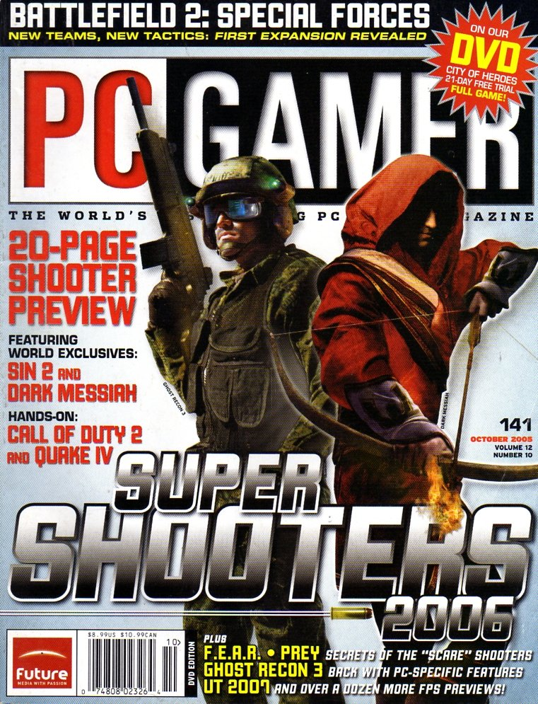 PC Gamer Issue 141 October 2005
