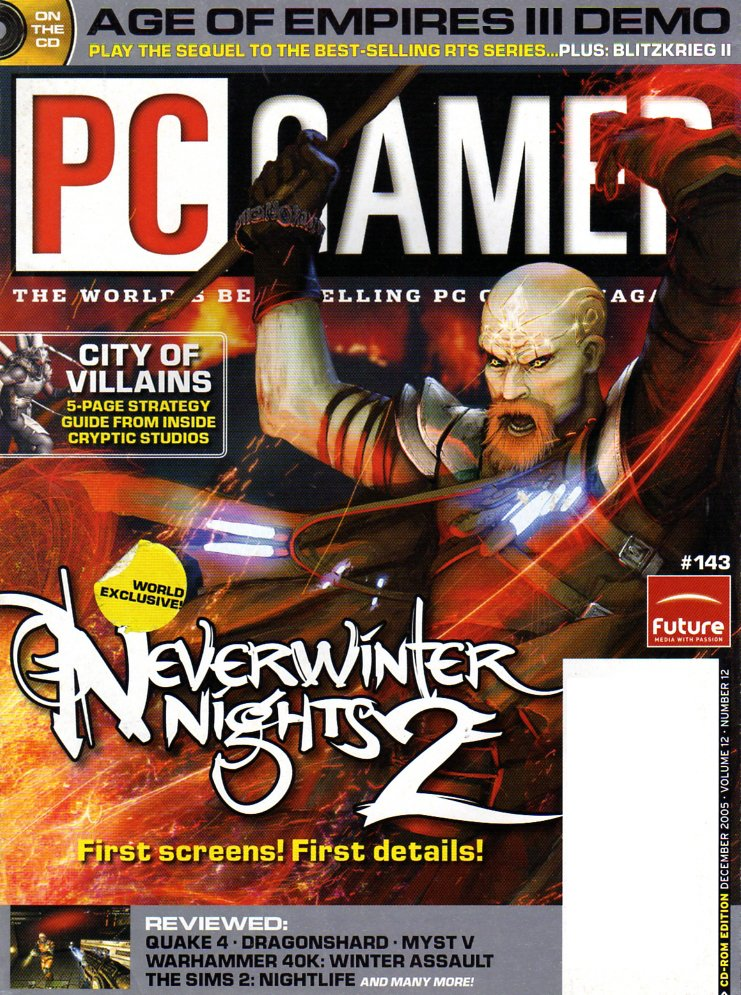 PC Gamer Issue 143 December 2005