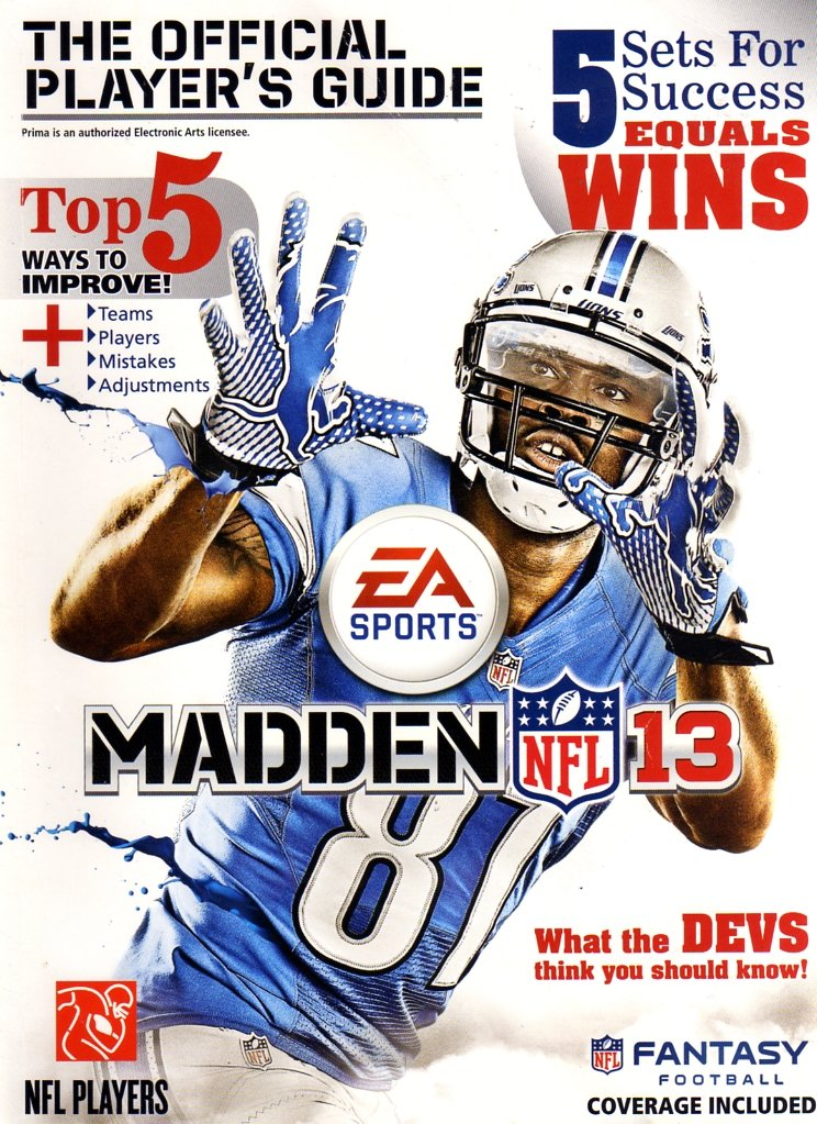 Madden NFL 13 Official Player's Guide
