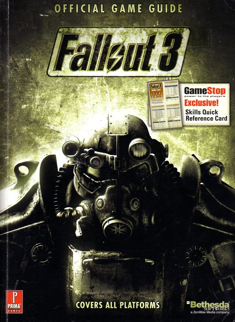 Fallout 3 Official Game Guide (GameStop Exclusive)