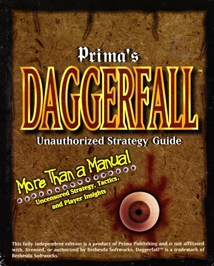 Daggerfall Unauthorized Strategy Guide