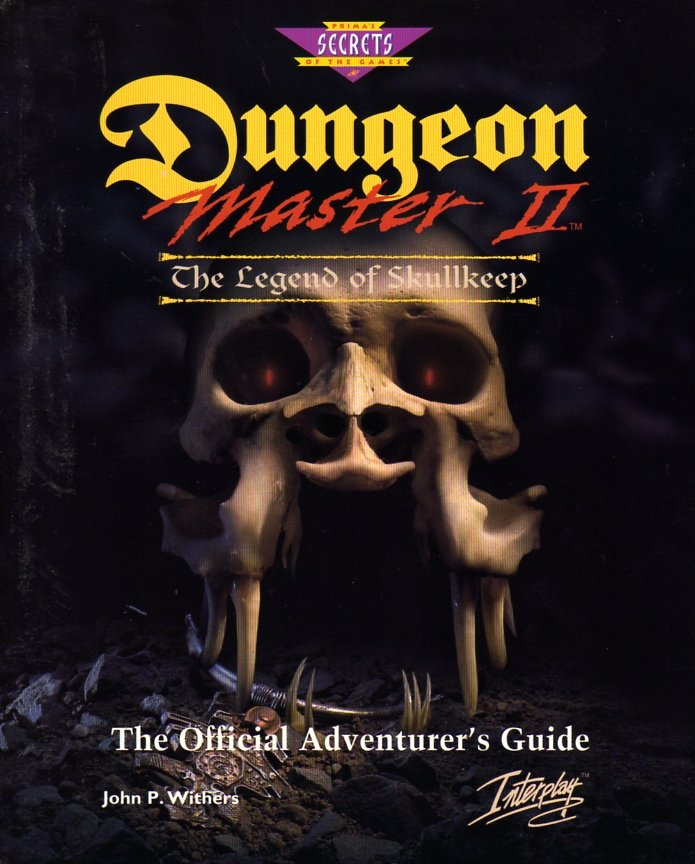 Dungeon Master II: The Legend of Skullkeep Official Adventurer's Guide
