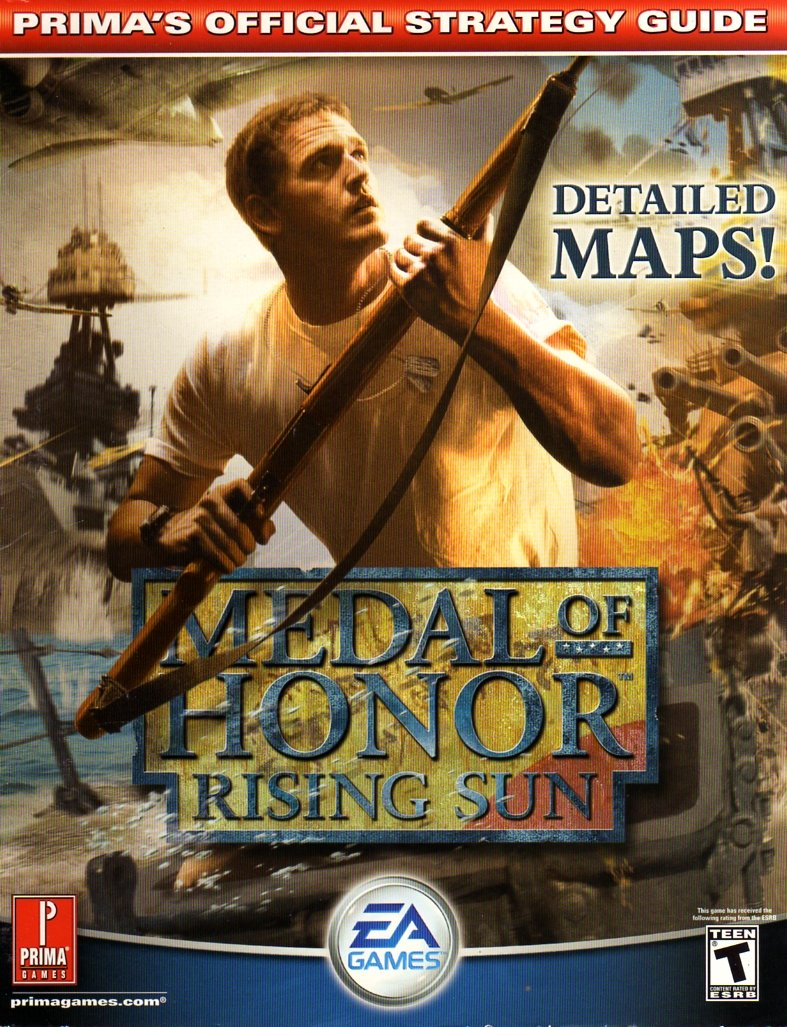 Medal Of Honor: Rising Sun Official Strategy Guide