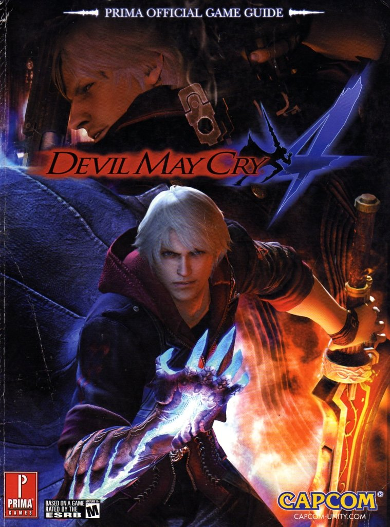 Devil May Cry 4 Official Game Guide