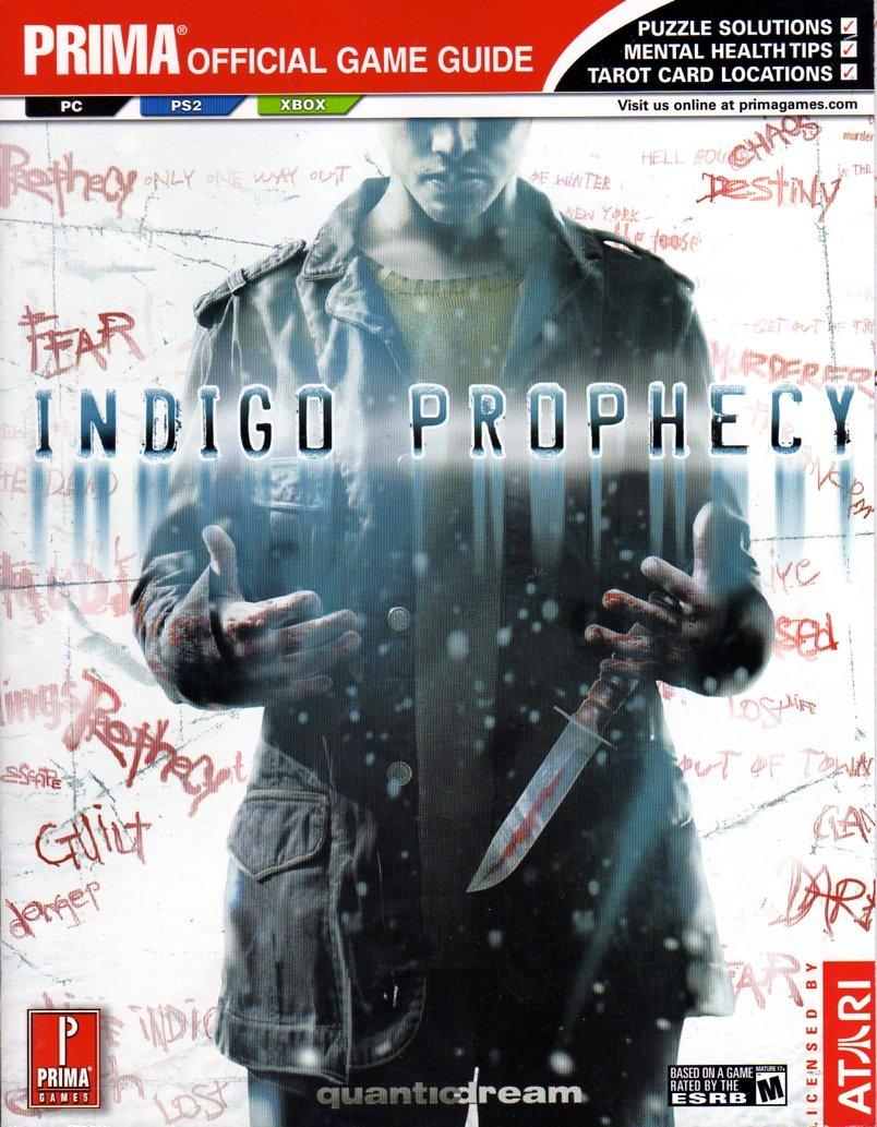 Indigo Prophecy Official Game Guide
