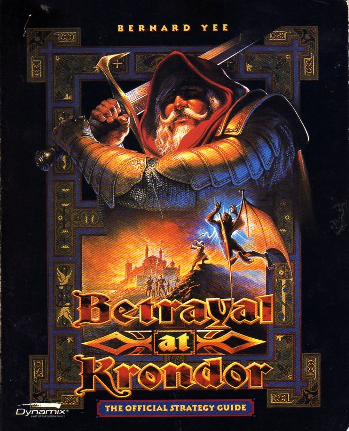 Betrayal at Krondor Official Strategy Guide