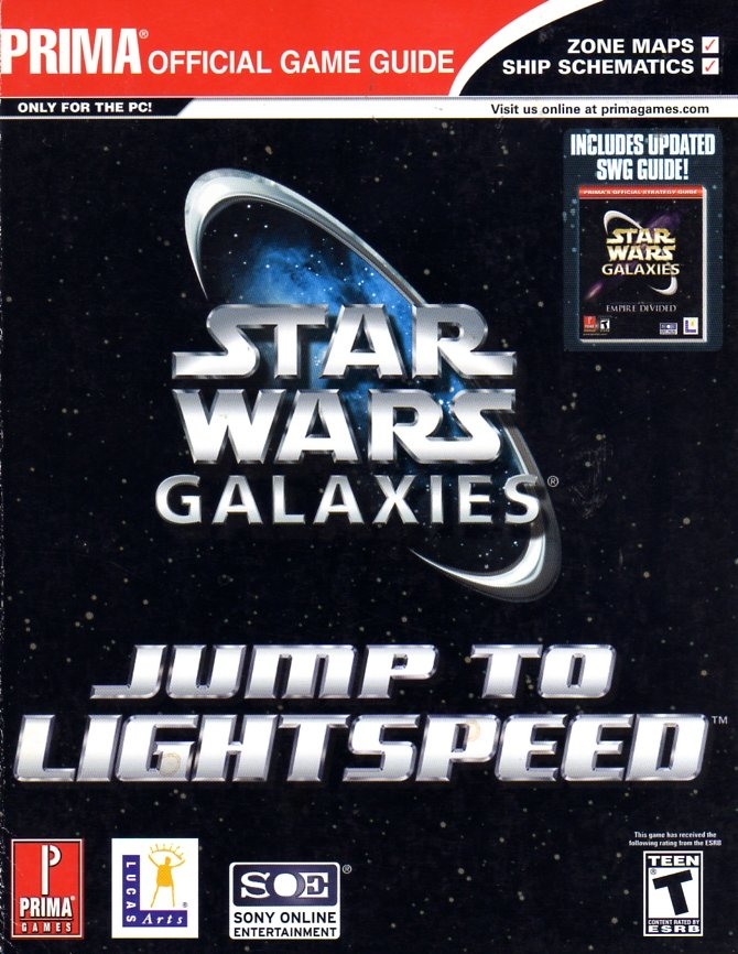 Star Wars Galaxies: Jump To Lightspeed Official Game Guide