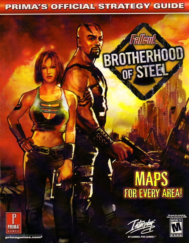 Fallout: Brotherhood of Steel Official Strategy Guide