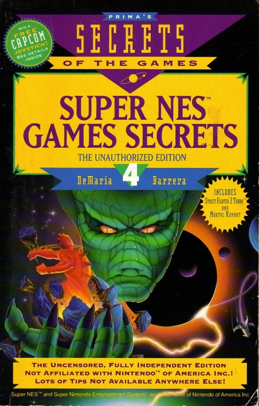 Super NES Games Secrets Volume 4 - Prima Games - Retromags