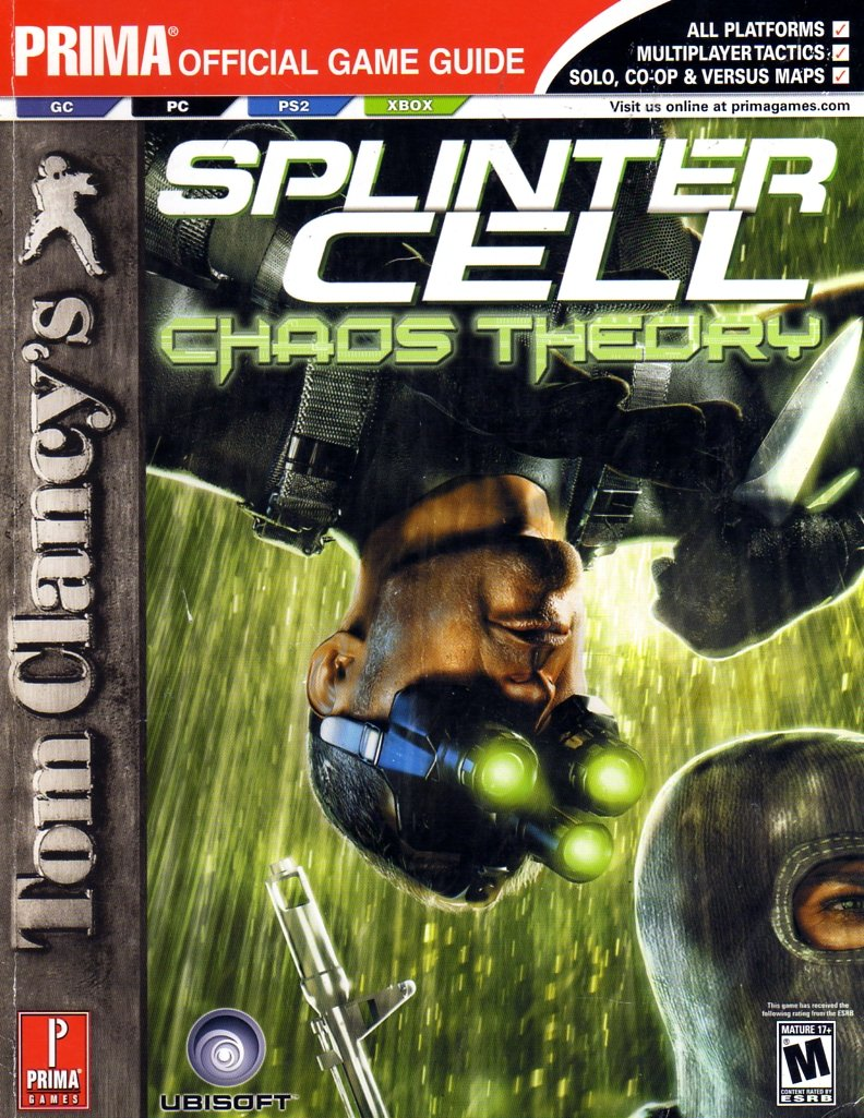Splinter Cell: Chaos Theory Official Game Guide