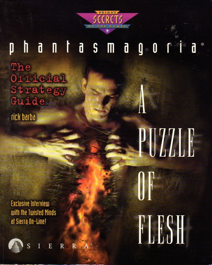 Phantasmagoria: A Puzzle of Flesh Official Strategy Guide