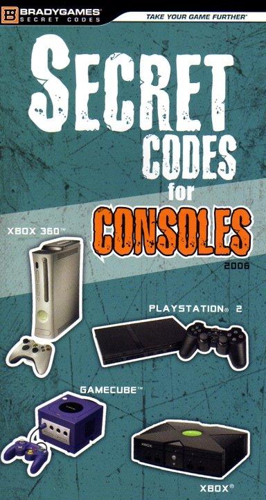 Secret Codes For Consoles 2006