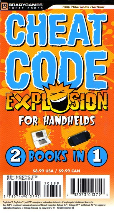 Cheat Code Explosion For Handhelds (2011 Edition)