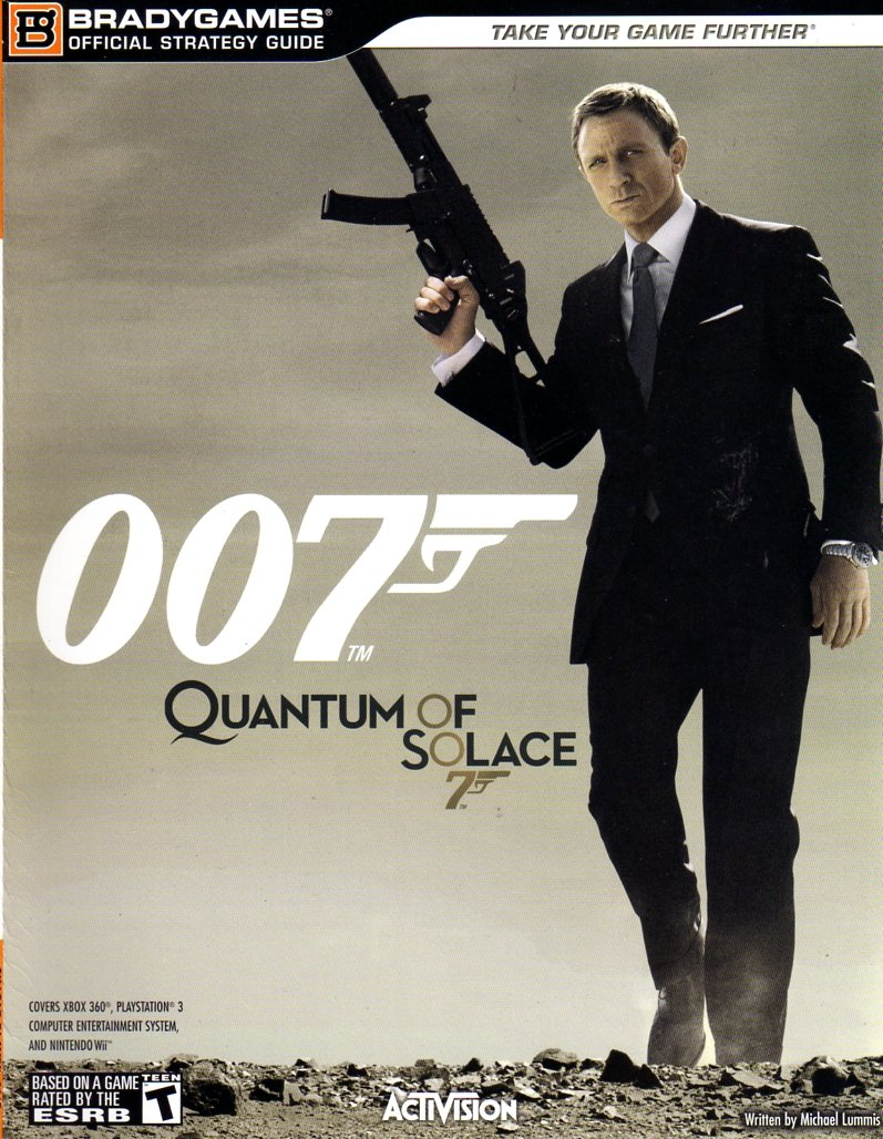 Quantum Of Solace 007 Official Strategy Guide