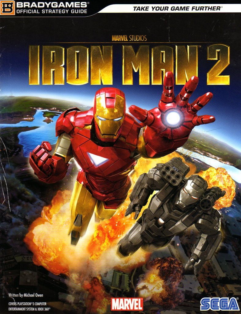 Iron Man 2 Official Strategy Guide