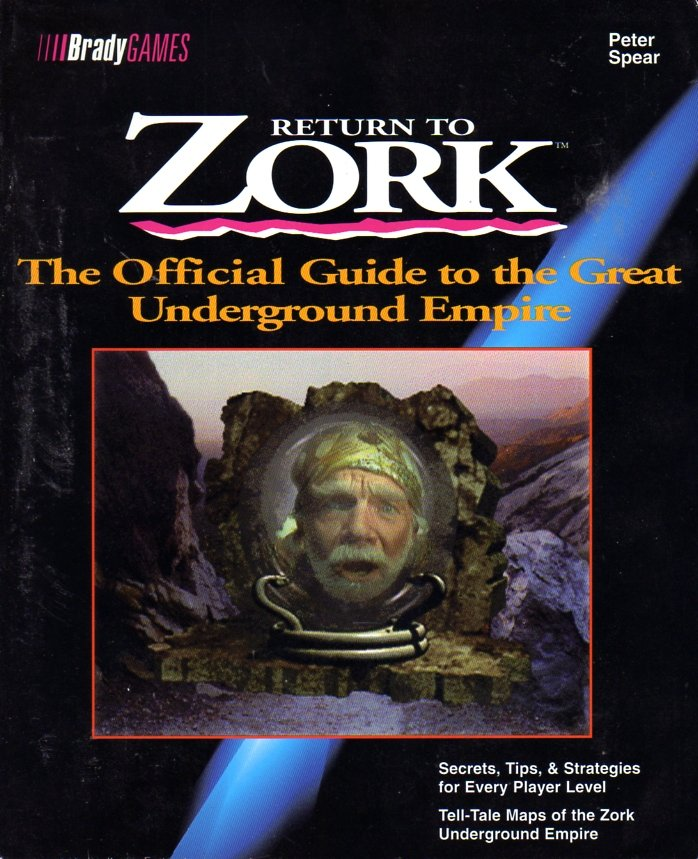 Return to Zork Official Guide to the Great Underground Empire