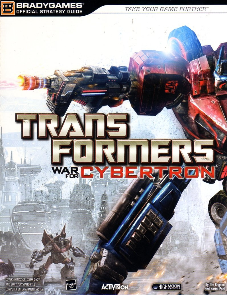 Transformers: War For Cybertron Official Strategy Guide
