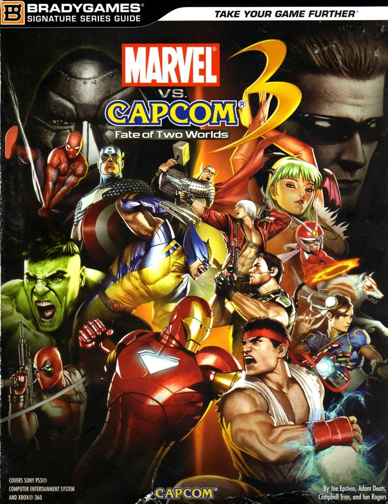 Marvel vs. Capcom 3: Fate Of Two Worlds Signature Series Guide