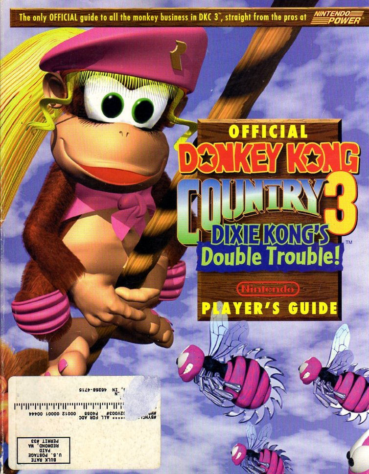 Donkey Kong Country 3: Dixie Kong's Double Trouble Nintendo Player's Guide