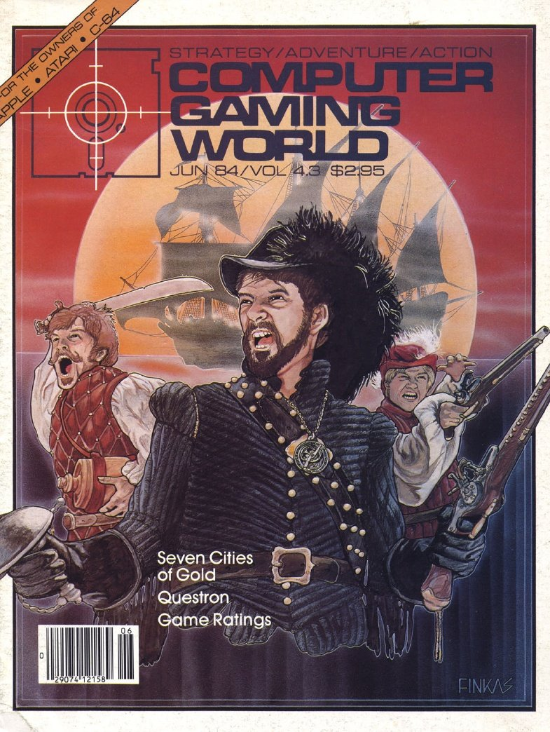 Computer Gaming World Issue 016 June July 1984