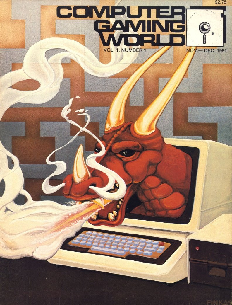 Computer Gaming World Issue 001 November December 1981
