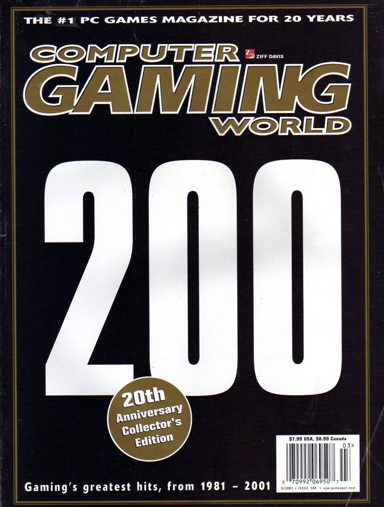 Computer Gaming World Issue 200 March 2001