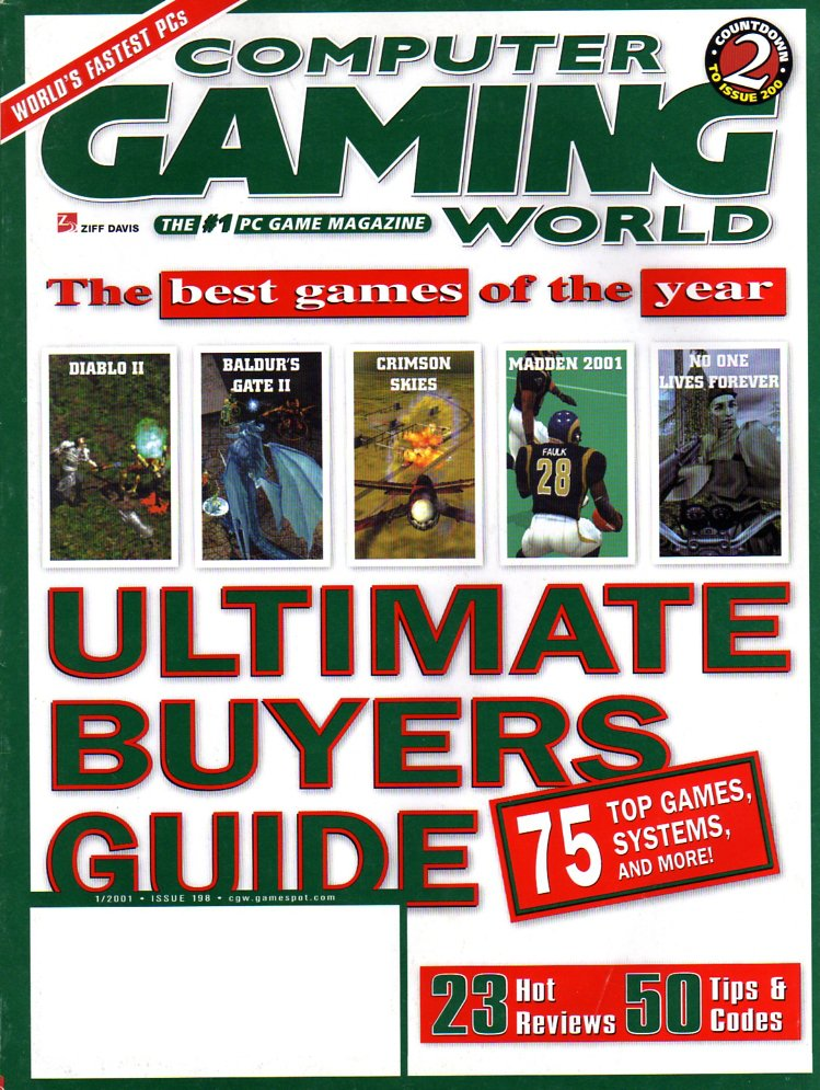 Computer Gaming World Issue 198 January 2001