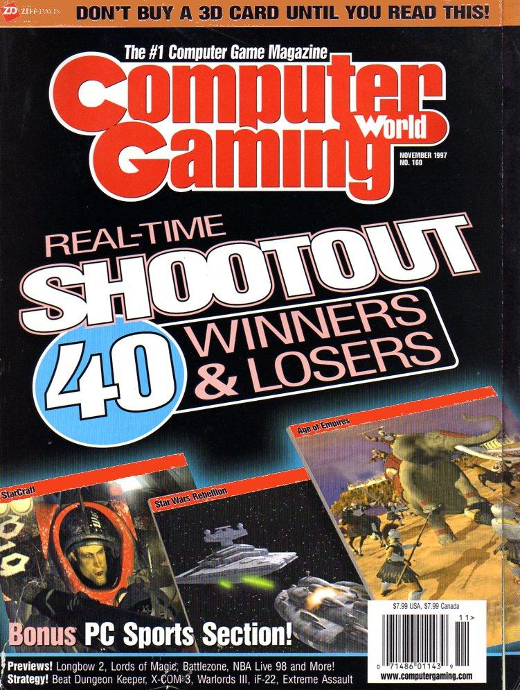 Computer Gaming World Issue 160 November 1997