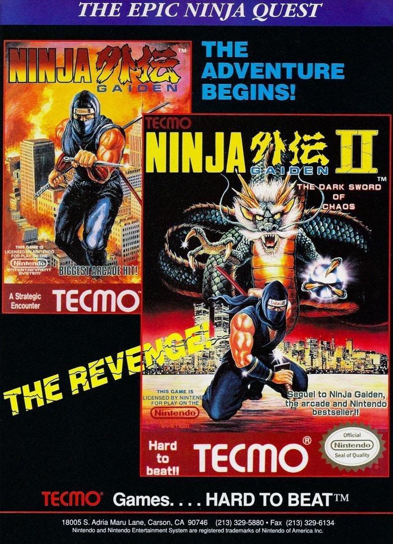 Ninja Gaiden and Ninja Gaiden II.jpg