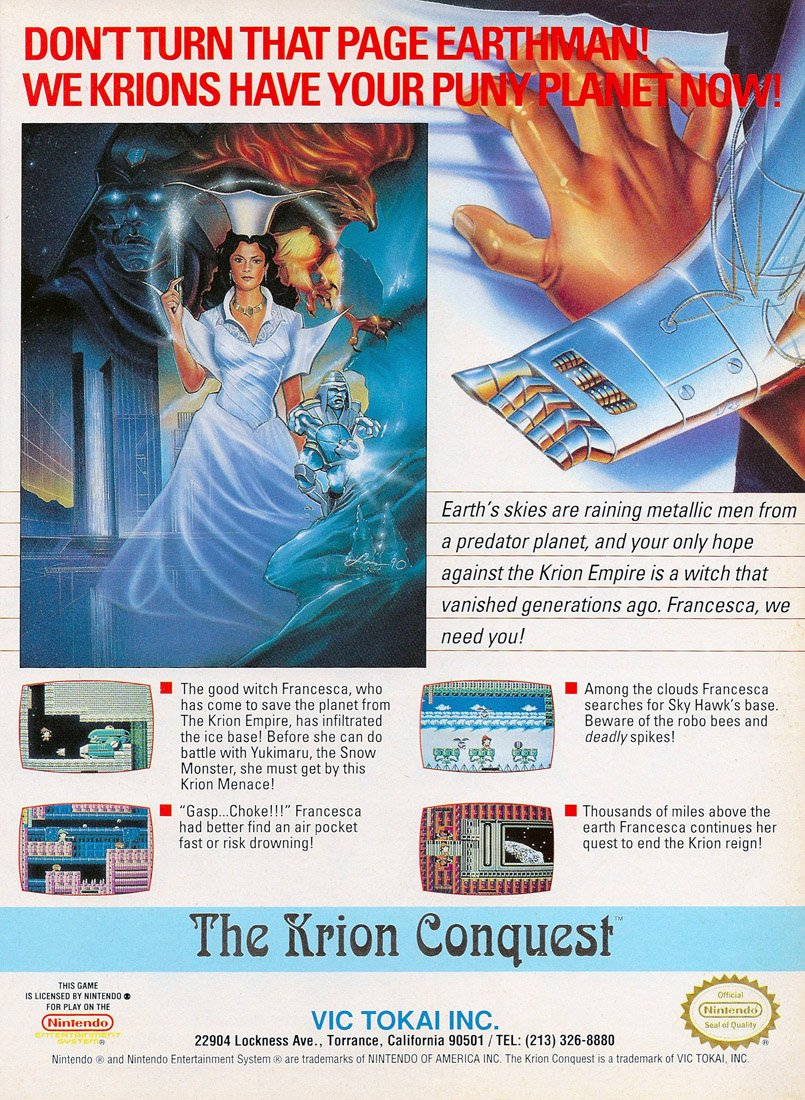 Krion Conquest, The