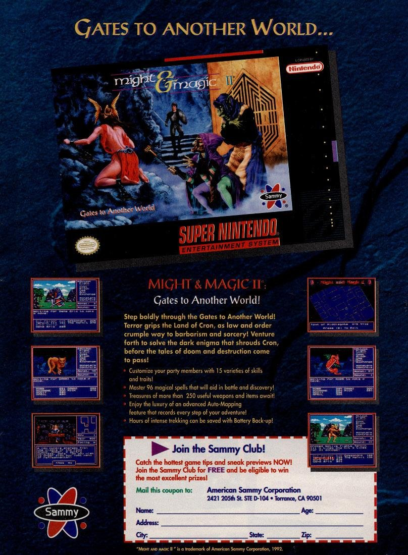 Might & Magic II