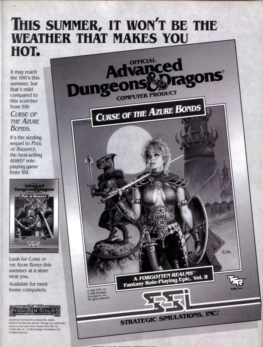 AD&D - Curse of the Azure Bonds