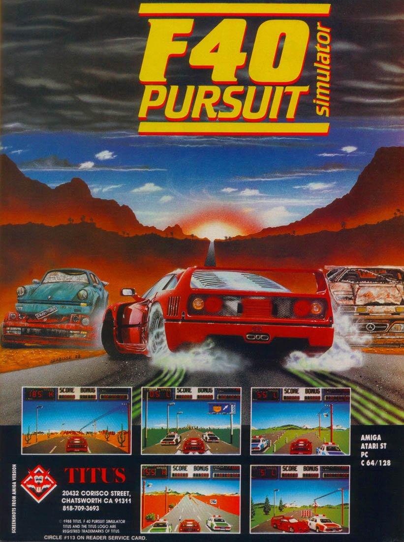F40 Pursuit
