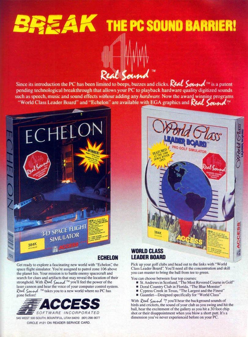 Echelon & World Class Leader Board