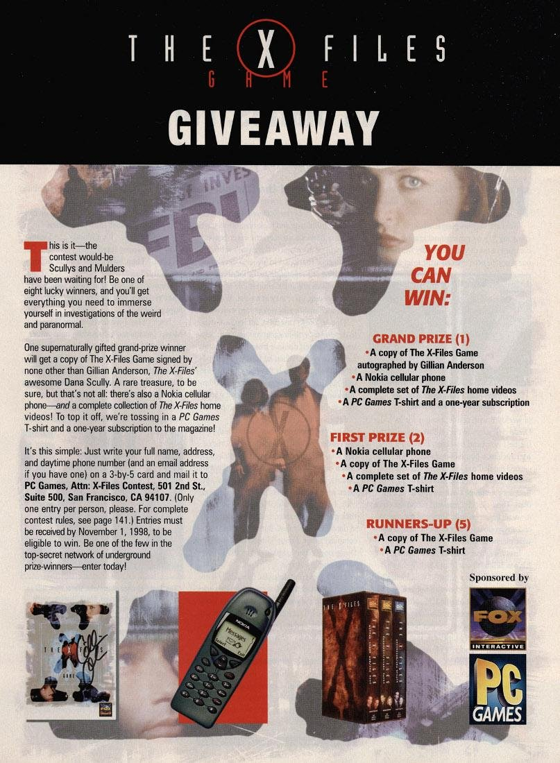 X-Files Game, The (Contest)