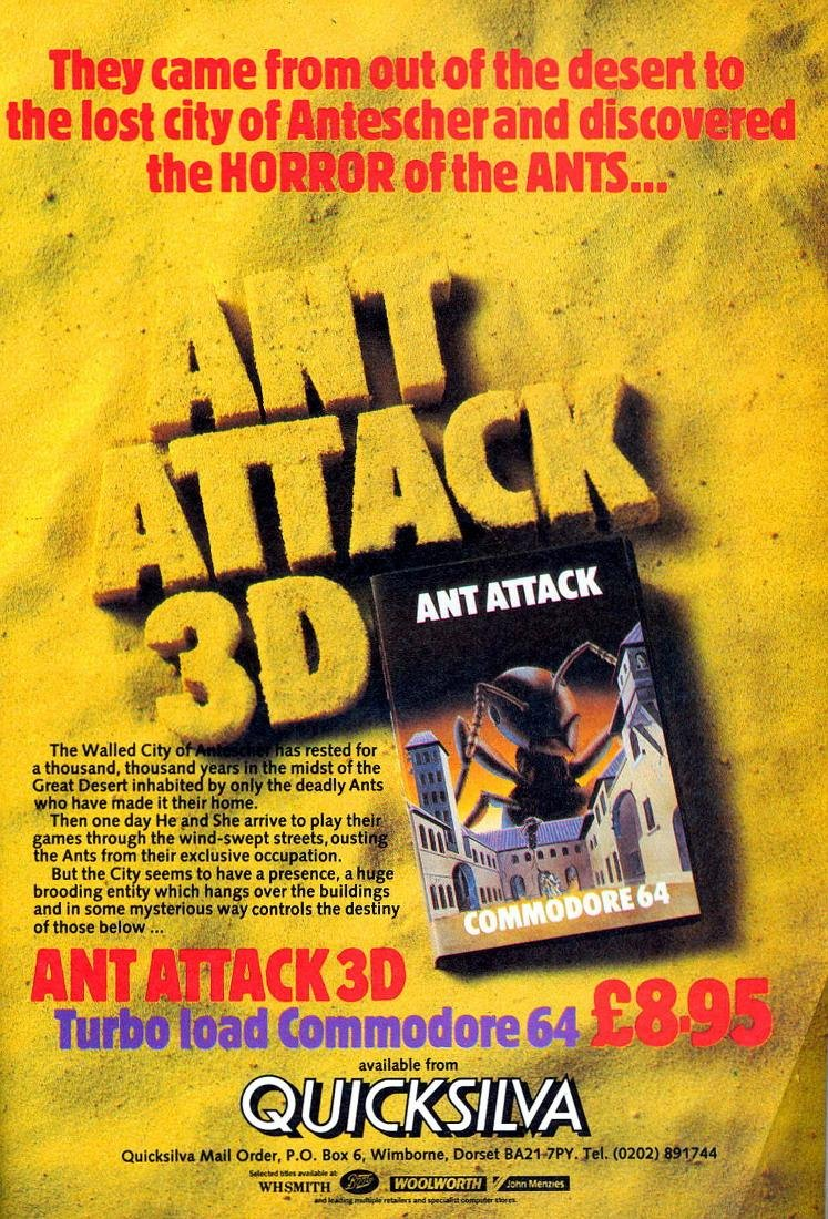 Ant Attack 3D