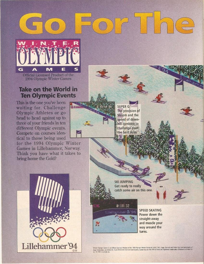 Winter Olympic Games - Lillehammer '94 01
