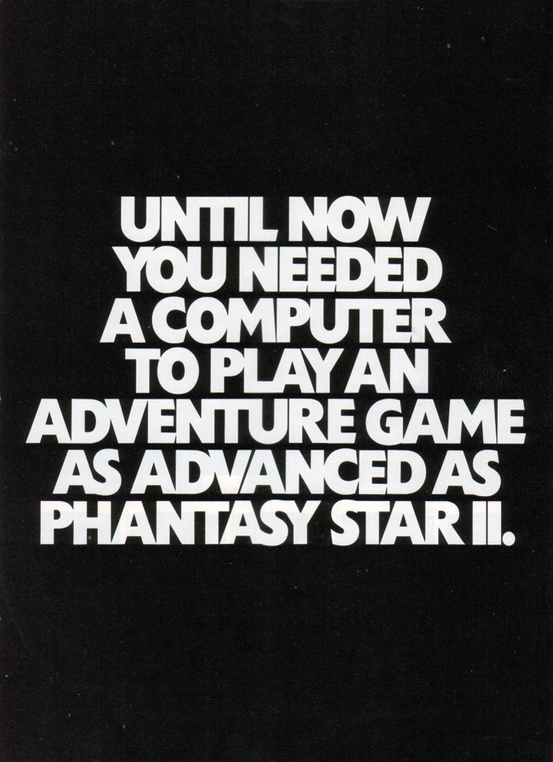 Phantasy Star II pg1 (1990)