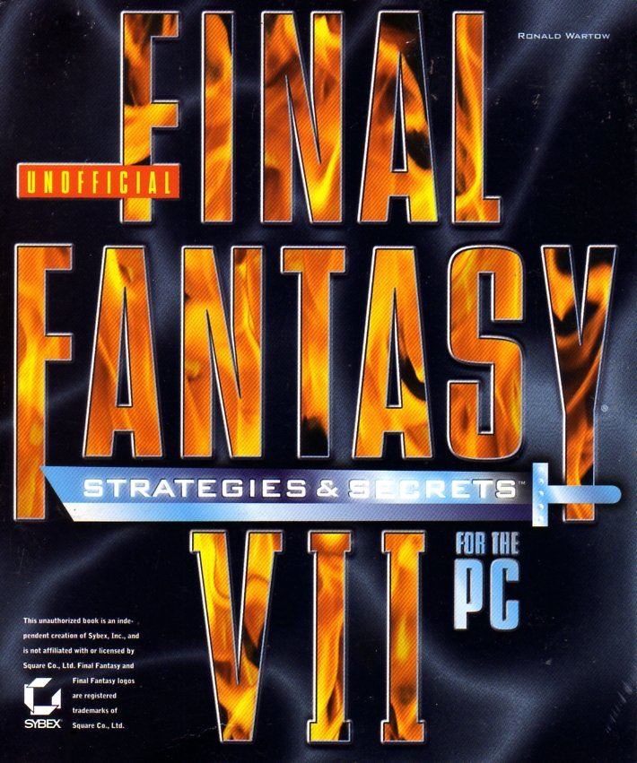 Final Fantasy VII Unofficial Strategies & Secrets For The PC