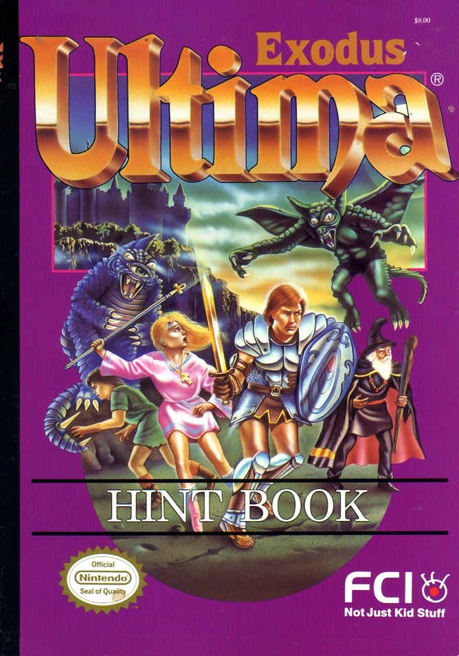Ultima Exodus Hint Book