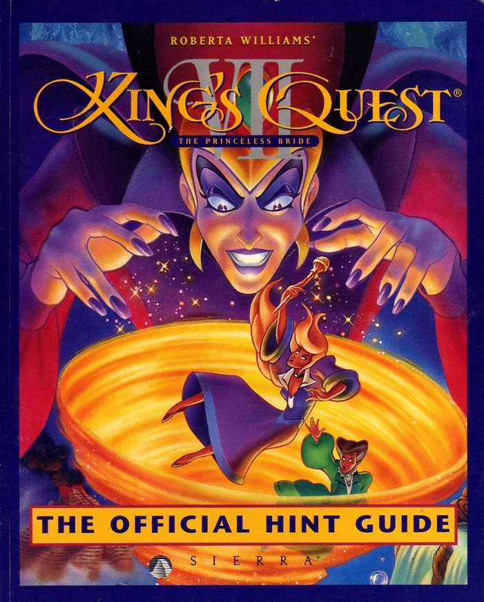 King's Quest VII: The Princeless Bride Official Hint Guide