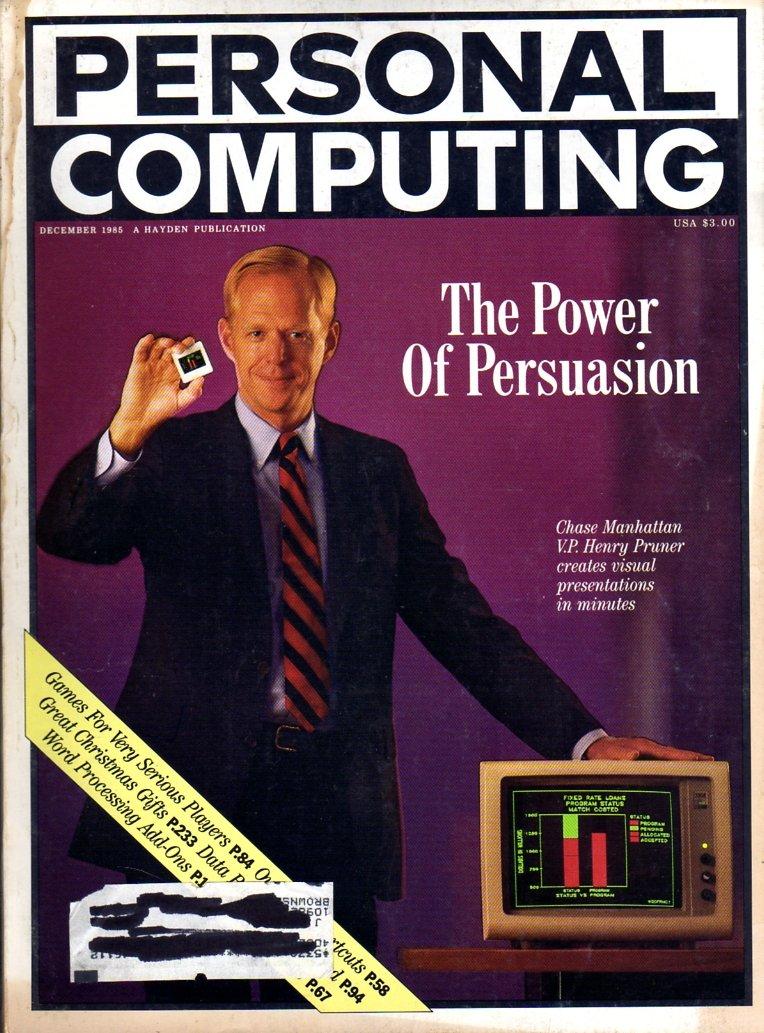Personal Computing Vol 09 No 12 December 1985