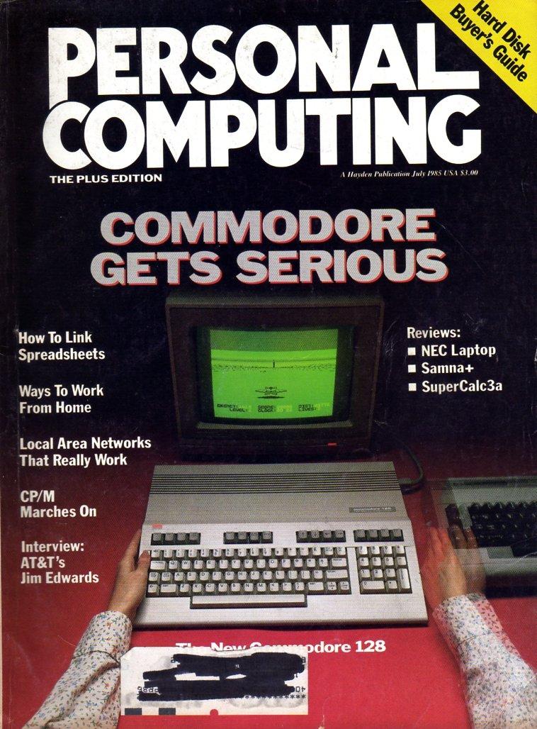 Personal Computing Vol 09 No 07 July 1985