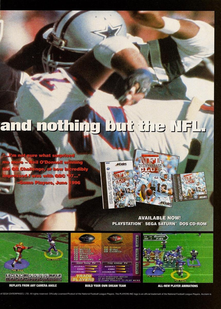 NFL Quarterback Club 97 (2)