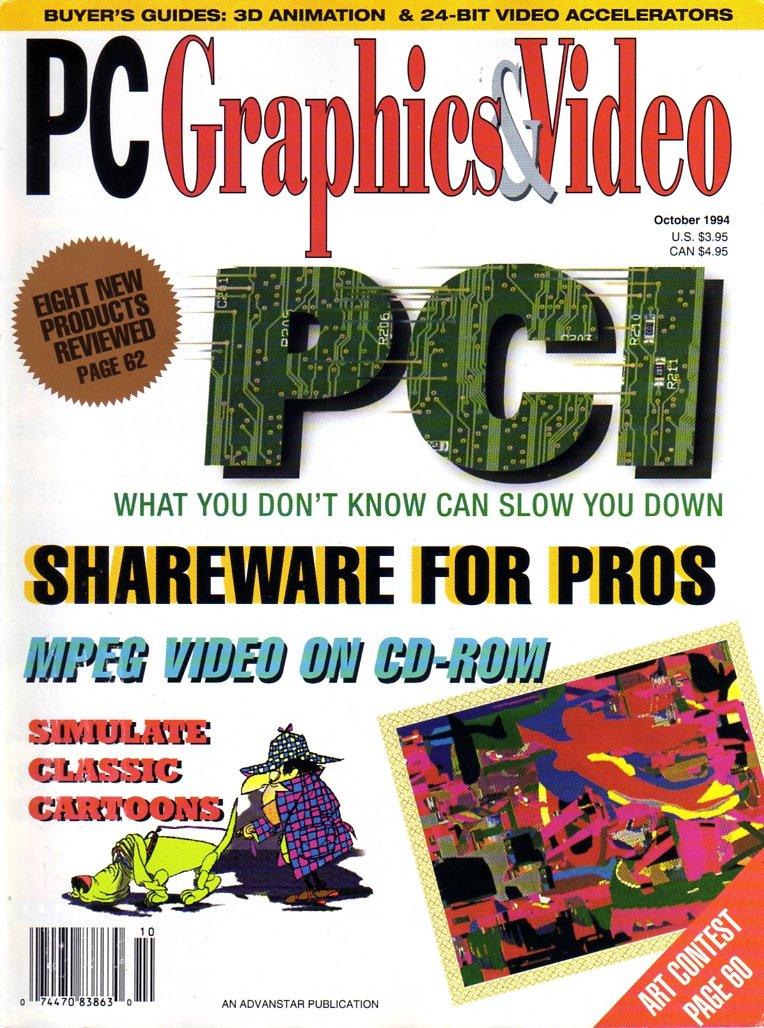 PC Graphics & Video Vol 03 No 08 October 1994